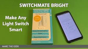 switchmate toggle smart light switch switchmate bright make any light switch smart youtube