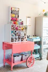 Ikea Craft Cart Vintage Cart Makeover Storage Ideas Organizations And Craft