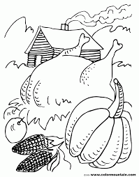 thanksgiving harvest coloring pages coloring home