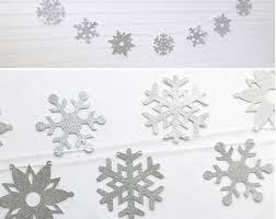 snowflake decorations snowflake decorations etsy
