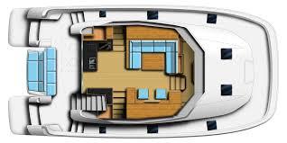 100 catamaran floor plan charter orana martinique