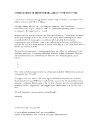 cover letter for dean position cover letter for adjunct teaching position business plan cover