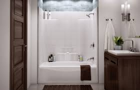 bathtub shower unit bathroom tub shower combo with seat charming one piece bathtub