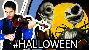 the nightmare before this is violin