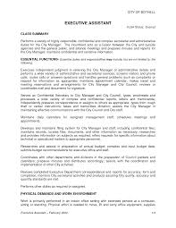 Administrative Assistant Job Duties For Resume by 8 Best Images Of Administrative Assistant Job Description Resume