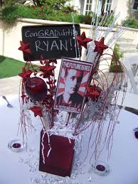 Home Made Party Decorations Graduation Balloon Centerpiece 17 Best Images About Graduation