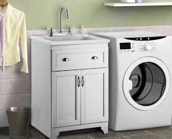 base cabinets for laundry room storage space maximization