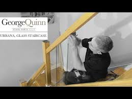 Stair Banister Glass How To Build A Glass Staircase Staircase Renovation Project