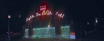christmas lights wichita ks the arc s lights on st paul in wichita is the largest