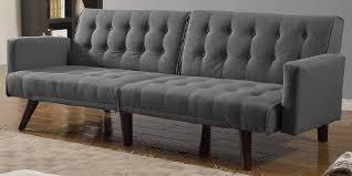 Linen Sleeper Sofa Mid Century Tufted Linen Sleeper Convertible Sofa 2018 2019