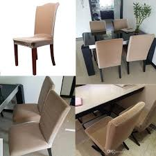 Chair Coverings Stretch Chair Cover Polyester Spandex Elastic Jacquard Coverings