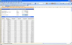 Student Loan Excel Spreadsheet by Loan Amortization Schedules Excel Yaruki Up Info