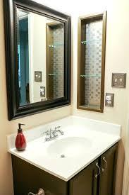 bathroom bathtub shelves tile niche recessed shower shelf realie