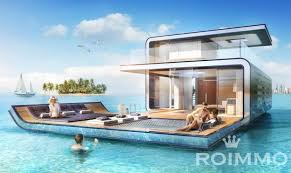 floating houses luxury floating houses dubai houses roimmo investment properties