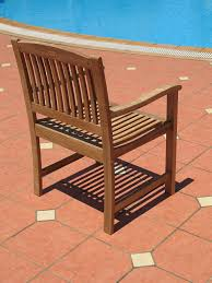 Amazon Com Patio Furniture Sets - amazon com 7pc teak wood patio dining set patio lawn u0026 garden