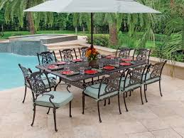patio dining set with swivel chairs11 daily knight cast aluminum