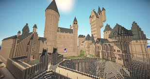 Castle Maps For Minecraft These 14 Harry Potter Minecraft Builds Will Blow You Away Ign