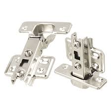 uxcell a11112500ux0531 stainless steel cabinet door hinge