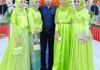 Baju Muslim Ukuran Besar baju gamis yang baru dan baju muslim setelan lina syar i gamis