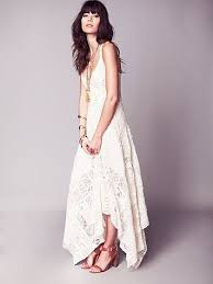 can u0027t afford it get over it a boho chic wedding dress for under