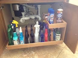 Kitchen Sink Cabinet Tray by Minimalist 32 Kitchen Under Sink Organizer On Under Sink Caddy