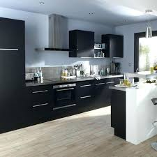 cuisine noir laqué pas cher cuisine noir pas cher cuisine equipee noir laque pas cher meuble