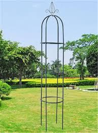 1 9m climbing plant support garden trellis colour rose obelisk