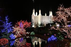 mormon temple festival of lights who are mormons washington dc temple festival of lights