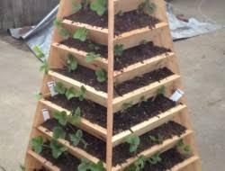 Diy Strawberry Planter by How To Make A Strawberry Pyramid Planter