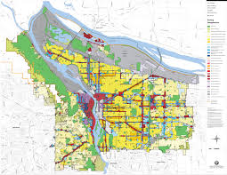 Portland City Maps by Portland Zoning Map My Blog