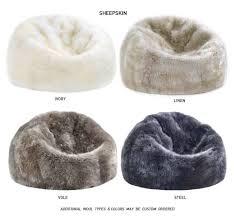 fibre by auskin beanbag natures fleece ultimate seating