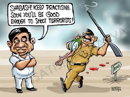 world of an indian cartoonist maharashtra police can shoot
