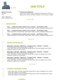 Example Of Resume Work Experience by Job Resume Examples Original Resume 20 Examples Of Resumes