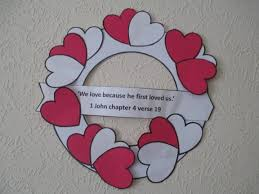 valentine wreath craft u2013 free pdf u2013 let their light shine