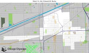 12th ward chicago map map of building projects properties and businesses in 14th ward