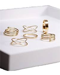 midi ring set midi rings