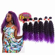crochet black weave hair 250g lot synthetic weave hair extensions 14 16 18 jerry curly
