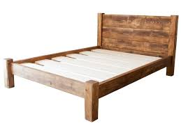 King Wood Bed Frame Bedroom The Most Awesome King Wooden Bed Frame With
