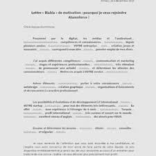 Une Lettre De Motivation Blabla Lettres De Motivation Pearltrees