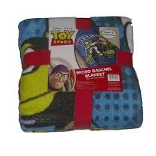 disney toy story toddler twin bed microplush raschel fleece