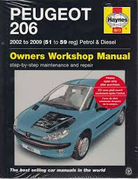 peugeot 206 2002 2009 petrol u0026 diesel workshop manual