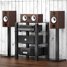 home theater shelving audio video shelving amazon com