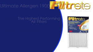 Filtrete Healthy Living Ultra Allergen Reduction Ac Furnace Air Top Home Air Filters 3m Filtrete Youtube