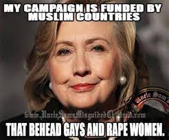 this meme destroys hillary s claim to being pro woman look