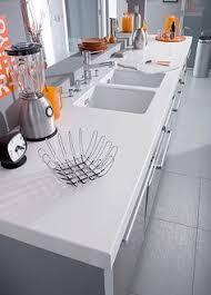 plan de travail en r駸ine pour cuisine plan de travail résine pour une cuisine moderne éviers résine et
