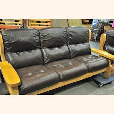 Leather Sofa Used Leather Sofas Beautiful In Living Room Ideas With Stylish For