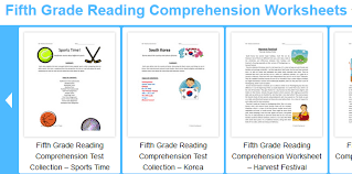 reading comprehension grade fifth grade language skill builders reading comprehension