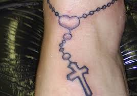 30 cool rosary tattoos on hand
