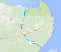 Map Of Playa Del Carmen Mexico by Getting To Holbox From Playa Del Carmen Travel Yucatan