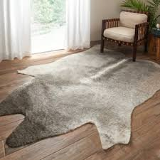 faux fur animal rugs u0026 area rugs for less overstock com